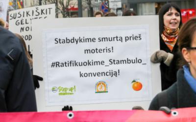 Stambulo konvencijos ratifikavimo priešininkai patys save diskredituoja