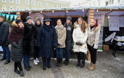 """Dalyvavome Kalėdinėje nevyriausybinių organizacijų mugėje """"Už saugią Lietuvą""""!"""