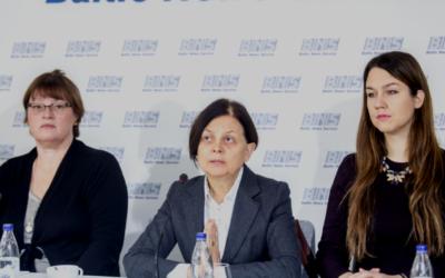 Spaudos konferenciją Moterų žmogaus teisės Lietuvoje 2018