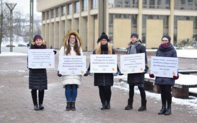 2019 m. sausio 25 d. prie LR Seimo rūmų, įvyko Step Up kampanija! Stabdykime smurtą prieš moteris! Ratifikuokime Stambulo konvenciją!