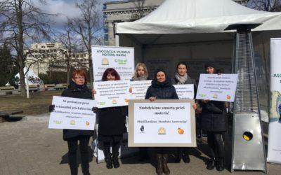 2019 m. kovo 25 d. prie LR Seimo, Nepriklausomybės aikštėje, įvyko Step Up kampanija!
