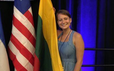 2019 rugsėjo 3 – 8 dienomis asociacijos Vilniaus Moterų namai atstovė Zuzana Vasiliauskaite dalyvavo renginiuose San Diege, Kalifornijoje!