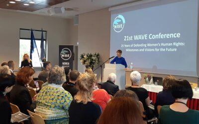 Vilniaus Moterų namų narės dalyvavo 25-tojoje WAVE konferencijoje!