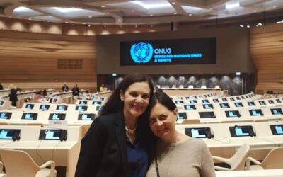 Asociacijos Vilniaus Moterų namai atstovės dalyvavo CEDAW Komiteto 74 sesijoje Ženevoje