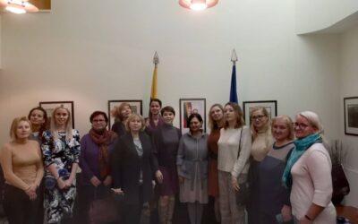 Dėkojame Lietuvos Respublikos ambasadai Minske už suteiktą galimybę lyčių demokratijos stiprinimui abipus sienų!