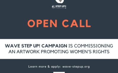 Feministinis tinklas WAVE (Women Against Violence Europe/Moterys prieš smurtą Europoje) kviečia kurti meną, palaikantį moterų žmogaus teises